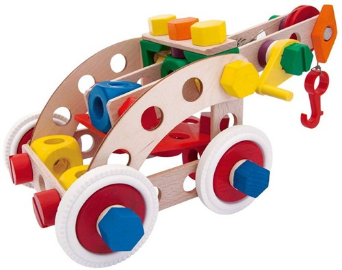 Baufix  houten constructie speelgoed Multi Set 1 10410-2