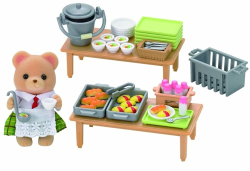 Sylvanian Families Lunch Op School 5108