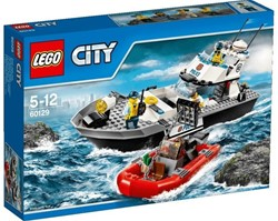 Lego  City politie patrouilleboot 60129