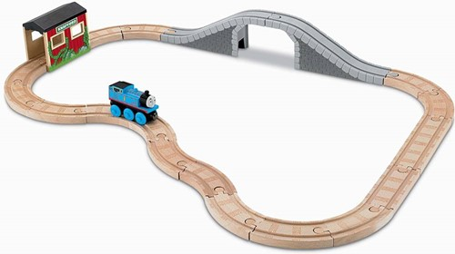 Thomas and Friends  houten trein set 5 in 1 Up And Around Set