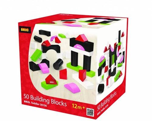 Brio houten bouwblokken 50 stuks 30156-2