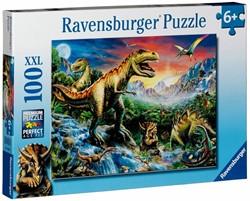 Ravensburger  legpuzzel Bij de dinosaurussen - 100 stukjes