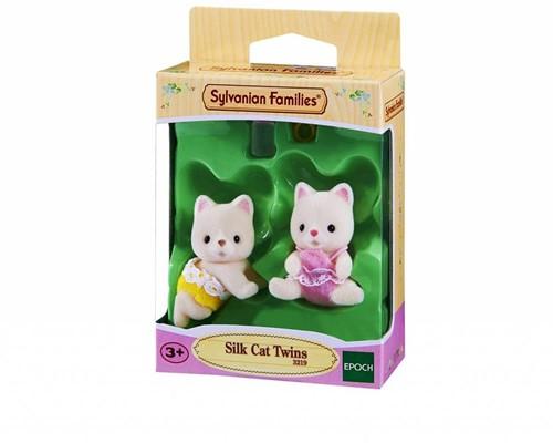 Sylvanian Families  speel figuren Tweeling Zijdezacht - 3219-3