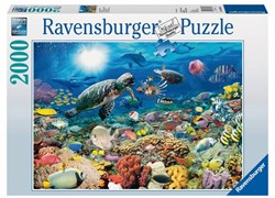Ravensburger  legpuzzel Leven in Koraalrif - 2000 stukjes