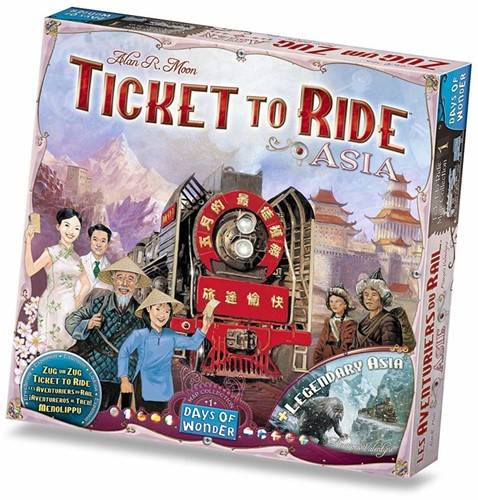 Days of Wonder bordspel spel Ticket to Ride - Azie-1