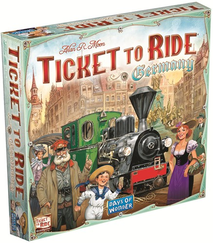 Days of Wonder bordspel Ticket to ride Germany-1