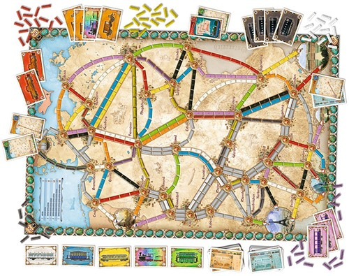 Days of Wonder bordspel Ticket to ride Germany-2