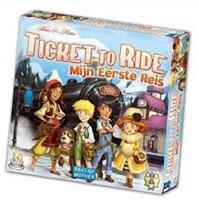 Days of Wonder bordspel Ticket to Ride Mijn Eerste Reis - NL