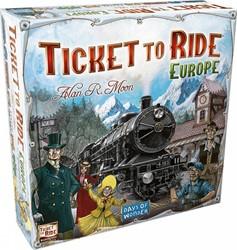 Days of Wonder bordspel Ticket to ride - Europe