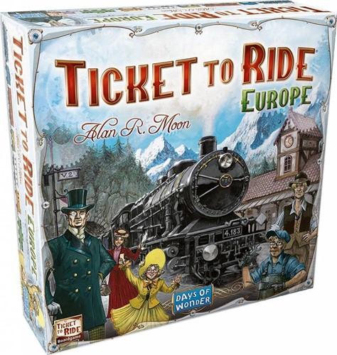 Days of Wonder bordspel Ticket to ride Europe - NL