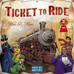 Days of wonder bordspel - Ticket to ride - USA