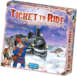 Days of Wonder Bordspel Ticket To Ride - Nordic Countries Engelstalig