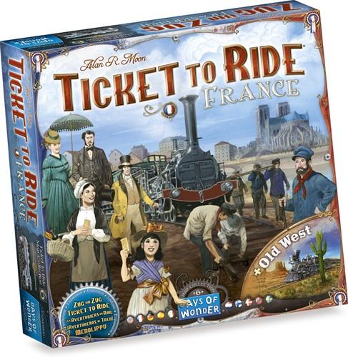 Days of Wonder Bordspel Ticket to Ride - France/Old West
