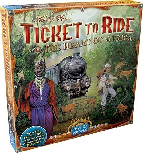 Days of Wonder bordspel Ticket to Ride - Afrika