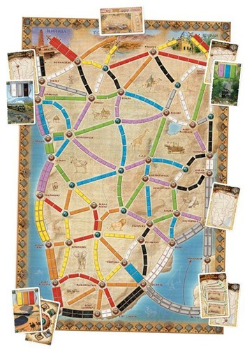Days of Wonder  bordspel spel Ticket to Ride - Afrika-3