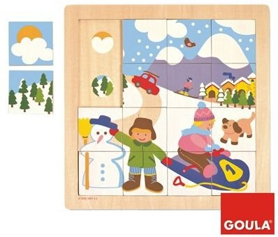 Goula Puzzel Winter