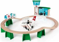 Brio  houten trein set Monorail vliegveldset 33301