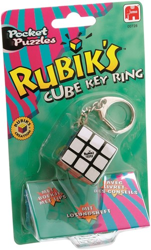 Jumbo Rubik's Mini  Cube Key Ring