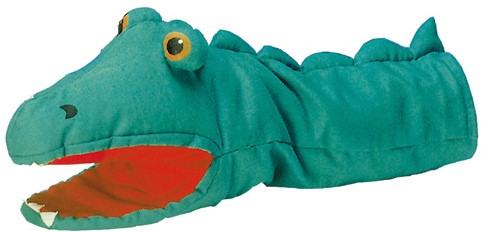Goki Hand puppet  Crocodile