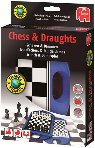 Jumbo reisspel schaken en dammen