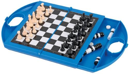 Jumbo reisspel schaken en dammen-2
