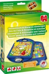 Jumbo  bordspel Ganzenbord - Slangen & ladders