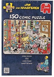 Jumbo  Jan van Haasteren legpuzzel Opstopping - 150 stukjes