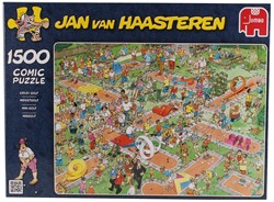 Jumbo Jan van Haasteren puzzel Midgetgolf - 1500 stukjes