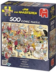 Jumbo  Jan van Haasteren legpuzzel Pak de kat - 500 stukjes