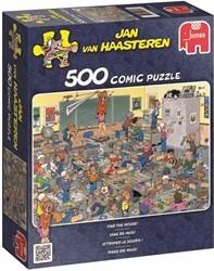 Jumbo  Jan van Haasteren legpuzzel Vang de muis - 500 stukjes