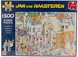 Jumbo Jan van Haasteren puzzel De Bouwplaats - 1500 stukjes