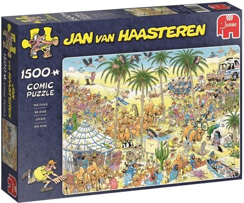 Jumbo puzzel Jan van Haasteren De Oase - 1500 stukjes