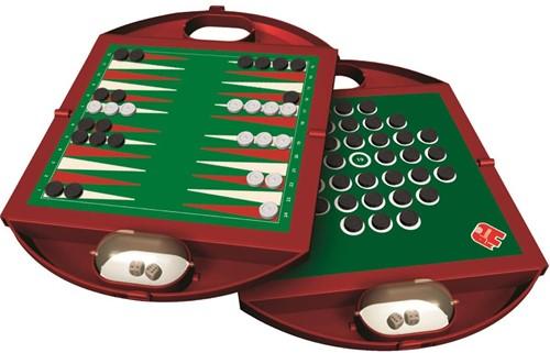 Jumbo reisspel Backgammon en Solitaire-2