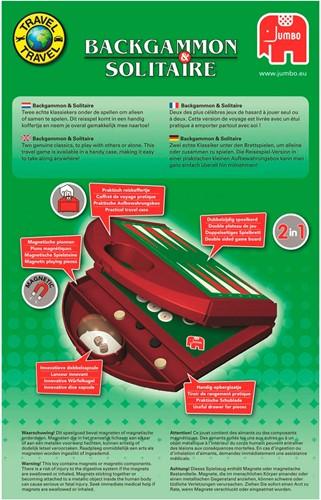 Jumbo reisspel Backgammon en Solitaire-3
