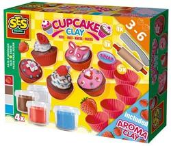 Ses  boetseerset Superdough cupcakes