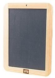 Ses  teken en verfspullen Krijtbord 18x25cm