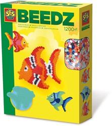 Ses  strijkkralen 1200 stuks vis