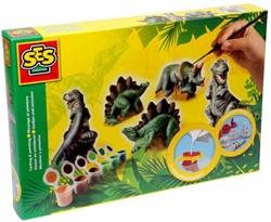 Ses knutselspullen Gipsen Dinosaurus