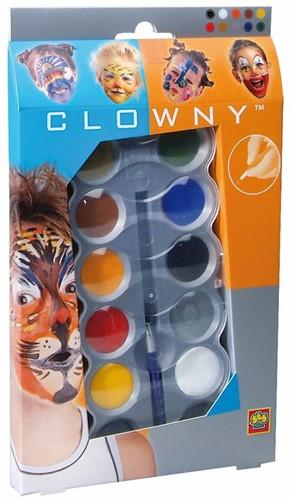 Ses  Clowny verkleedkleren Aqausmink 10 kleuren
