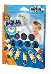 badspeelgoed Bad Kleurkrijtjes zeep 8stuks