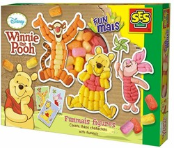 Ses  Funmais knutselspullen Winnie the Pooh
