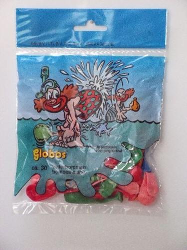 Globos zakje met 30 waterballonnen