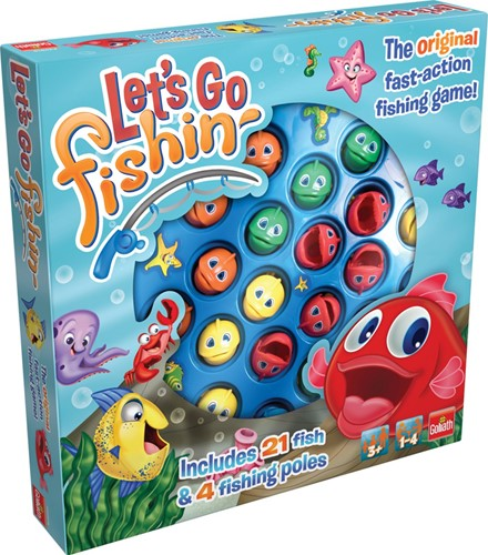 Goliath spel Let's Go Fishing Original (ML)