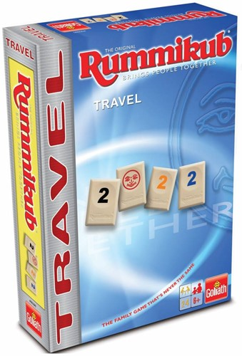 Goliath spel Rummikub The Original Travel Tour Edition (Tin)