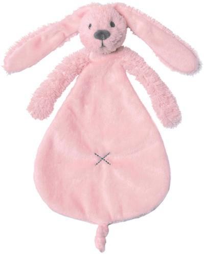Happy Horse knuffeldoekje Roze Konijn Richie - 25 cm