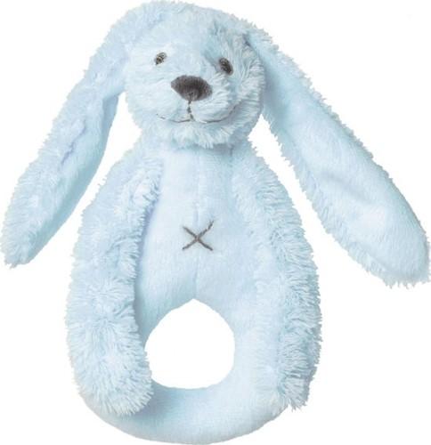 Happy Horse knuffel Blue Rabbit Richie Rattle - 18 cm