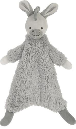 Happy Horse knuffeldoekje Ezel Dazzle - 23 cm