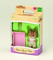 Sylvanian Families  speel figuren Walnut Squirrel baby - 3409-2