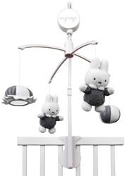 Nijntje - Baby accessoires - Grijs Gebreid muziekmobiel