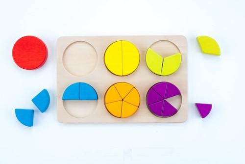 Planet Happy Sorteerbord geometrisch partjes-2